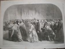 Russia A Marriage near Moscow 1857 print ref AY