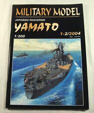 Halinski 1-2/2004 - Japanisches Schlachtschiff Superpanzerschiff Yamato - 1:200