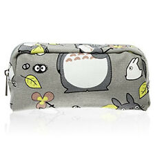 My Neighbor Totoro Pen Bag Pencil Case Canvas Cosmetic Makeup Storage Pouch