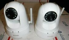 DLink Pan and Tilt Wireless or wired Camera DCS--5030L + DCS-8525LH No cords
