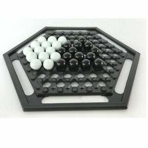 ABALONE New Version Board Game Classic Push Chess Strategy Marble Grid Movement
