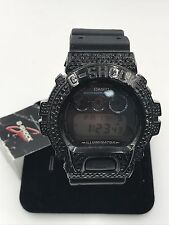 Casio G-Shock Classic Mirror Metalic Watch DW6900SB-2 - Black Diamonds