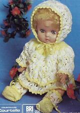 16 INCH DOLL KNITTING PATTERN TINY TEARS BABY ALIVE BY EMAIL (1113)