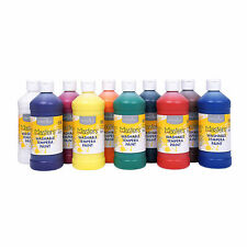 16-Oz. Washable Classic Colors Tempera Paint - Set Of 10