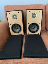 Sony SS-A105E 2 Speakers Pair HiFi 60W Teak Wood Style