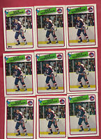 9 X 1988-89 OPC/TOPPS  # 65 JETS DALE HAWERCHUK  CARD