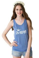 Anime Sleeveless 100% Cotton T-Shirts for Men