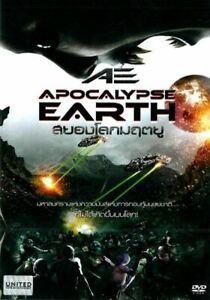 AE: APOCALYPSE EARTH (DVD R0) [The Asylum] Adrian Paul, Futuristic Sci-fi Action