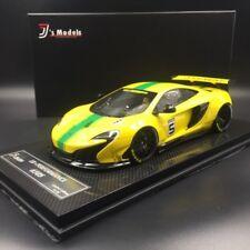 McLaren 650S LB Works #5 gelb mit grünem Streifen J's Models 1/18 GT Spirit NEU