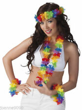Déguisements unisexes multicolores hawaii