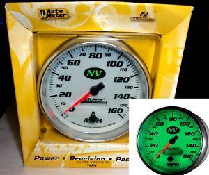 Auto Meter 1487-M Designer Black Electric Programmable Speedometer,3.125 in.