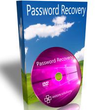 Windows 7 Ultimate Forgot Password Recovery Reset Remove Unlock CD DVD Disk