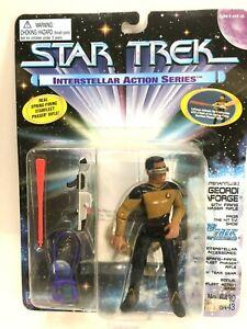 """NEW *Sealed* STAR TREK TNG 5"""" Figure Geordi LaForge Interstellar Series"""