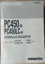 Komatsu escavatori idraulici PC 450 - 6 K, PC 450 LC - 6k RICAMBIO elenco