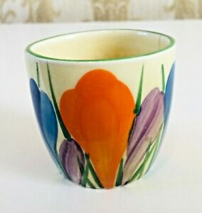 CLARICE CLIFF crocus egg cup.