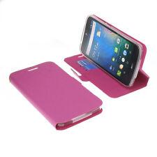 Custodia per Acer Liquid z630 Book-Style guscio protettivo Libro Custodia Cellulare Rosa