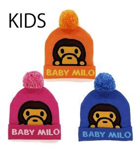 A BATHING APE BAPE KIDS Goods BABY MILO KNIT CAP 3colors New
