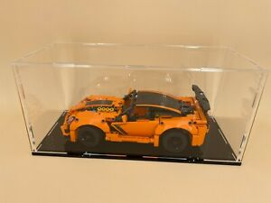 4mm thick Acrylic large display case for Lego 42093 Chevrolet