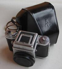 PENTACON six TL 6x6cm medium format camera BODY with WLF front cap in case MINT