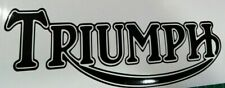 TRIUMPH  MOTORCYCLE / CAR DECAL  STICKER  FREE UK P&P