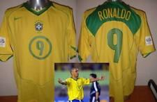 Brazil Adult Small Brasil Nike Ronaldo Football Soccer Shirt Jersey 2004 Trikot