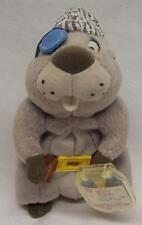 "Disney Winnie the Pooh High Seas Pirate Gopher 6"" Bean Bag Animal Toy Mattel New"