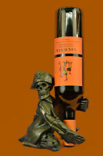 Decorative Pirate Metal Wine Bottle NEW Holder Holder Skeleton Skull Sculpture