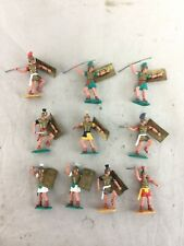 Lot 10 Vintage Timpo Swoppet Footed Roman Legionary Warriors