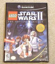 LEGO Star Wars II: The Original Trilogy  (Nintendo GameCube, 2006)