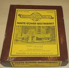 White Tower Restaurant échelle HO Magnuson Models