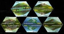 Indonesia 2003 Volcano Set of 5 pairs Mnh