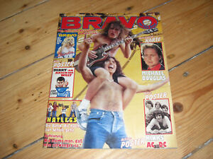 BRAVO 28/1980 KINKS HOTLEGS BLONDIE LED ZEPPELIN ACDC JERRY LEWIS CLASH DYLAN