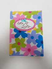 Lots of Lists Stocking Filler Diary Present Notebook Cover Slip On Gift #9A80