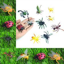 10X/Set Plastic Insects Bug Animals Figures Scorpion Locust Cricket Ant Kids Toy
