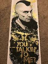 Rhys Cooper Taxi driver Robert De Niro You Talkin To Me Print Movie Poster Mondo