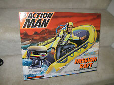 Hasbro Action Man 1/6th Scale Mission Raft With Motorized Outboard Motor, NIB
