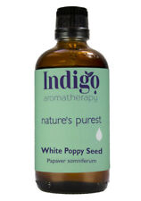 White Poppy Seed Oil 100ml Cold Pressed Carrier Oil - Indigo Herbs
