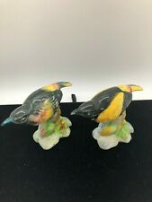 2 Vintage Stangl Pottery Bird Yellow Good Condition
