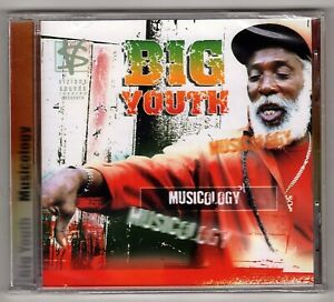BIG YOUTH-musicology    vizions sounds CD  (new & sealed)  reggae
