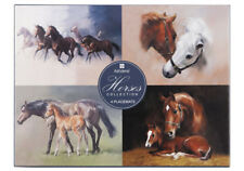 NEW Placemats Cork Backed Set of 4 Horses Collection Horse Foal