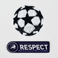 2009-11 Champions League Starball Respect Purple Set Player Issue Patch Sport...