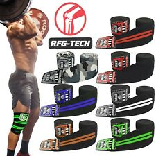 RFG genou Wraps Poids De Levage Bandage sangles protection Pads manches Dynamophilie Gym