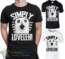 Simply Loveleh MENS T-Shirt Funny Owl Lovely BLOODY GOOD SHOT Plenty Tank Sir