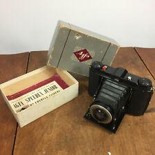 Minty Vintage Antique AGFA Camera Speedex Junior Folding Photo Solinar