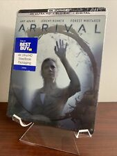 Arrival Steelbook (4K UHD+Blu-ray+Digital) Factory Sealed