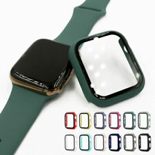 Hard Soft Screen Protector Case Cover For Apple Watch 1 2 3 4 5 6 38/40/42/44mm