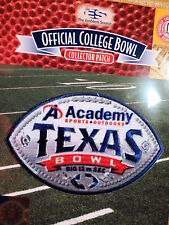 Official NCAA College Football Texas Bowl 2017/18 Patch Texas & Missouri