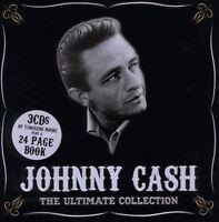 "JOHNNY CASH ""ULTIMATE COLLECTION [METALBOX]"" 3 CD NEU"
