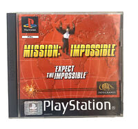 Mission Impossible PS1 Sony PlayStation 1 Complete with manual PAL