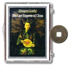 Dragon Lady - the Last Empress of China - Qing Dynasty Cash Coin - Box & COA